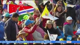 Millones de personas esperan la visita del papa Francisco en Perú