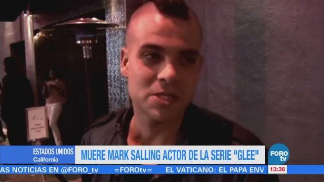 Muere Mark Salling actor de la serie 'Glee'