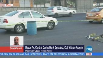 Muere Ciclista Tras Atropellado Villas Aragón