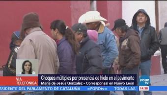 Muere una persona en Nuevo León a causa del frío