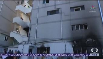 Mueren 41 personas por incendio de un hospital en Milyang, Surcorea