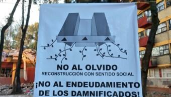 damnificados 19 s aseguran que no hay dialogo autoridades cdmx