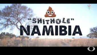 namibia pais mierda se burla trump