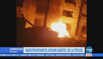 Narcotraficantes atacan cuartel de la Policía en Ecuador