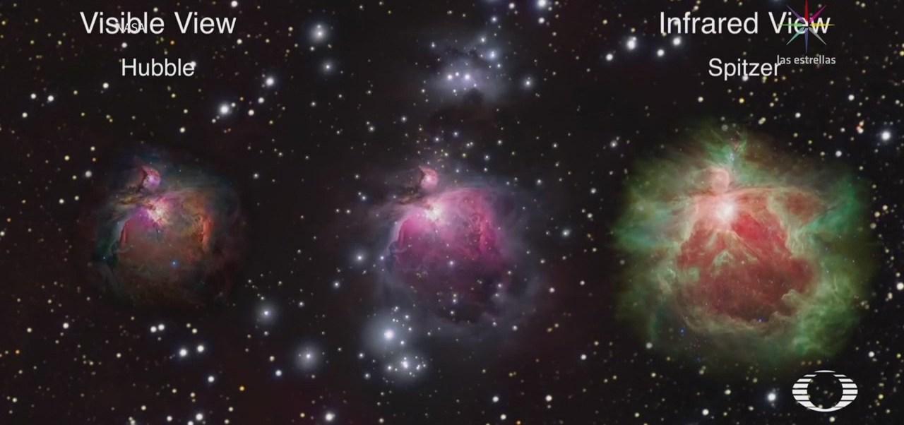 Nasa capta imágenes 3D de la Nebulosa de Orión