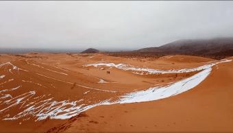 Nevada en el desierto del Sahara. (Reuters)
