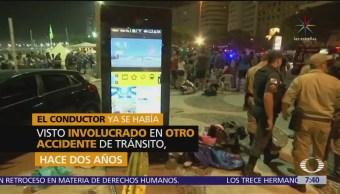 No fue terrorismo el atropellamiento en Brasil