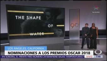 Nominaciones a los premios Oscar 2018