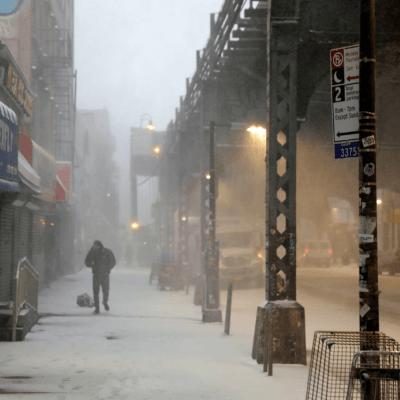 Estado de emergencia en NY por fuerte tormenta de nieve
