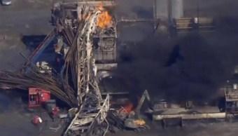 Oklahoma continúa búsqueda de trabajadores desaparecidos tras explosión en plataforma petrolera