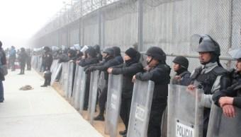 trasladan 135 reos el amate chiapas otros penales mexico