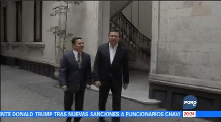 Osorio Chong Manuel Granados Reúnen