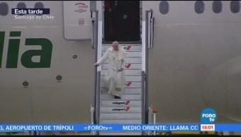 Papa Francisco Bendice Saluda Feligreses Chilenos