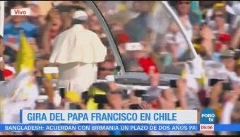 Papa Francisco realiza gira en Chile