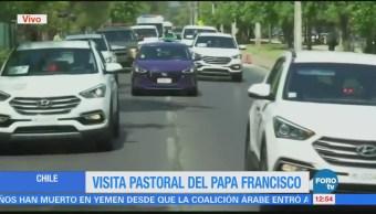 Papa Francisco visita cárcel de mujeres en Chile
