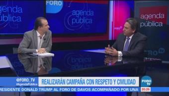 Partidos firman compromiso civil en CDMX; la mesa con Mario Velázquez
