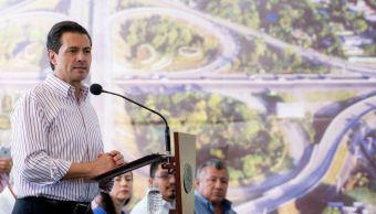 Peña Nieto entrega Libramiento de Villahermosa en Tabasco