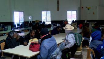 Migrantes, vulnerables ante el frío en Monterrey, reciben apoyo en Casa INDI