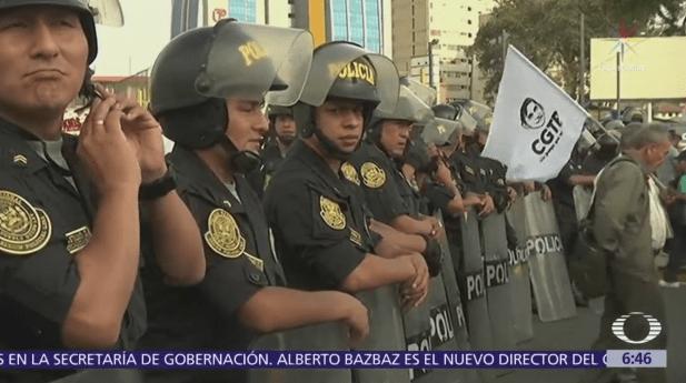 Siguen marchas contra el indulto a Fujimori en Perú