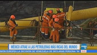 Petroleras Internacionales Interesadas México