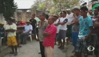 Pobladores de Pochotillo rechazan acusaciones de retención de policías