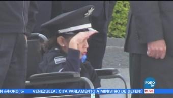 Policía Federal Otorga Título Honorario Niña Siete Años