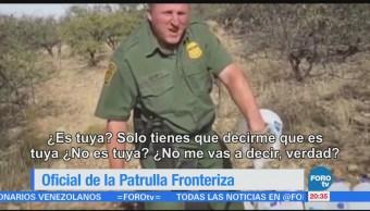 Policía Fronteriza Vandaliza Víveres Dejan Migrantes
