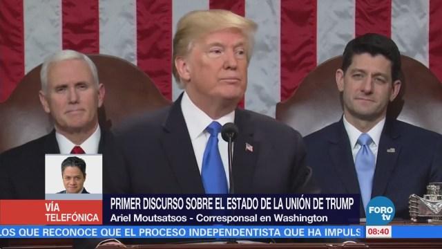 Primer discurso sobre el Estado de la Unión de Trump
