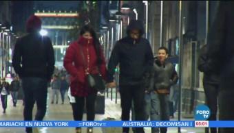 Pronostican temperaturas de hasta 4 grados bajo cero en el Valle de México