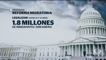 Proponen Reforma Migratoria Cambio Financiar Muro