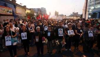 Miles peruanos indignados marchan indulto Fujimori