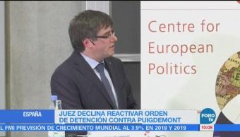 Puigdemont augura nuevo gobierno en Cataluña