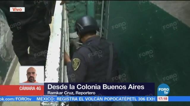 Realizan Operativo Contra Robo Autopartes Colonia Buenos Aires