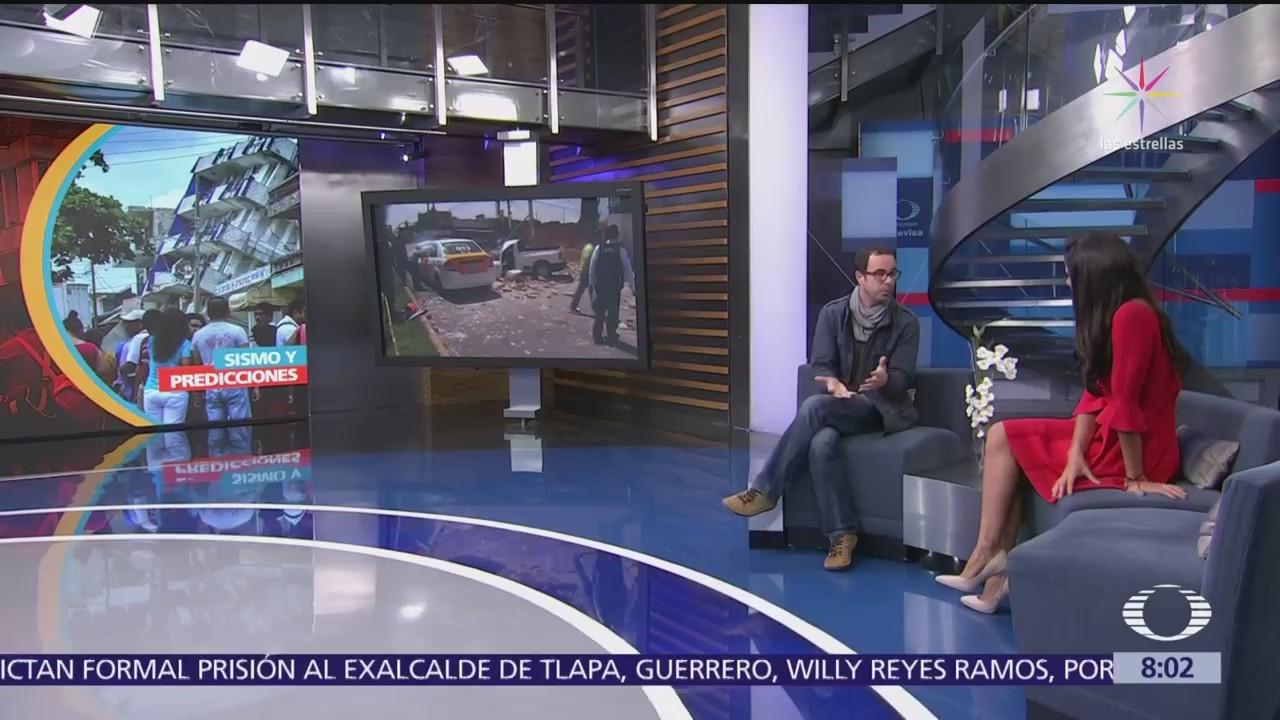 Reconocen a científico mexicano de la UNAM por prever sismo del 19S