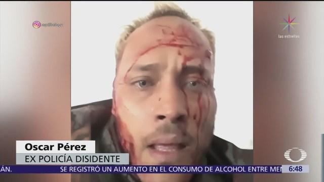 Régimen venezolano despliega operativo para capturar a Óscar Pérez