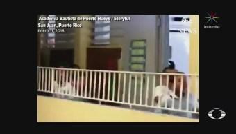 Regresa la luz a escuela de Puerto Rico