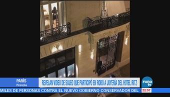 Revelan Video Sujeto Participó Robo Joyería Hotel Ritz