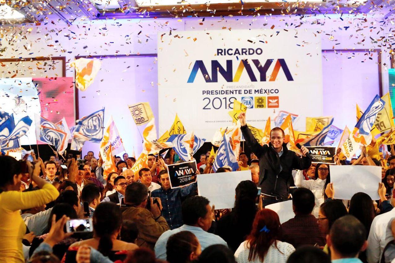 Promete Ricardo Anaya educación intercultural y alimentación para todos