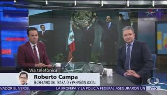Roberto Campa en Despierta, habla del 2018, Osorio y el salario mínimo
