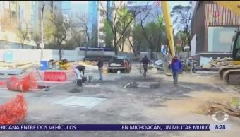 SACMEX concluye reparación del socavón en la calle Humboldt