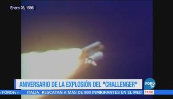 Se cumple 32 años de la explosión del 'Challenger'