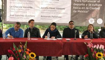 Sheinbaum se compromete a promover el deporte en la CDMX