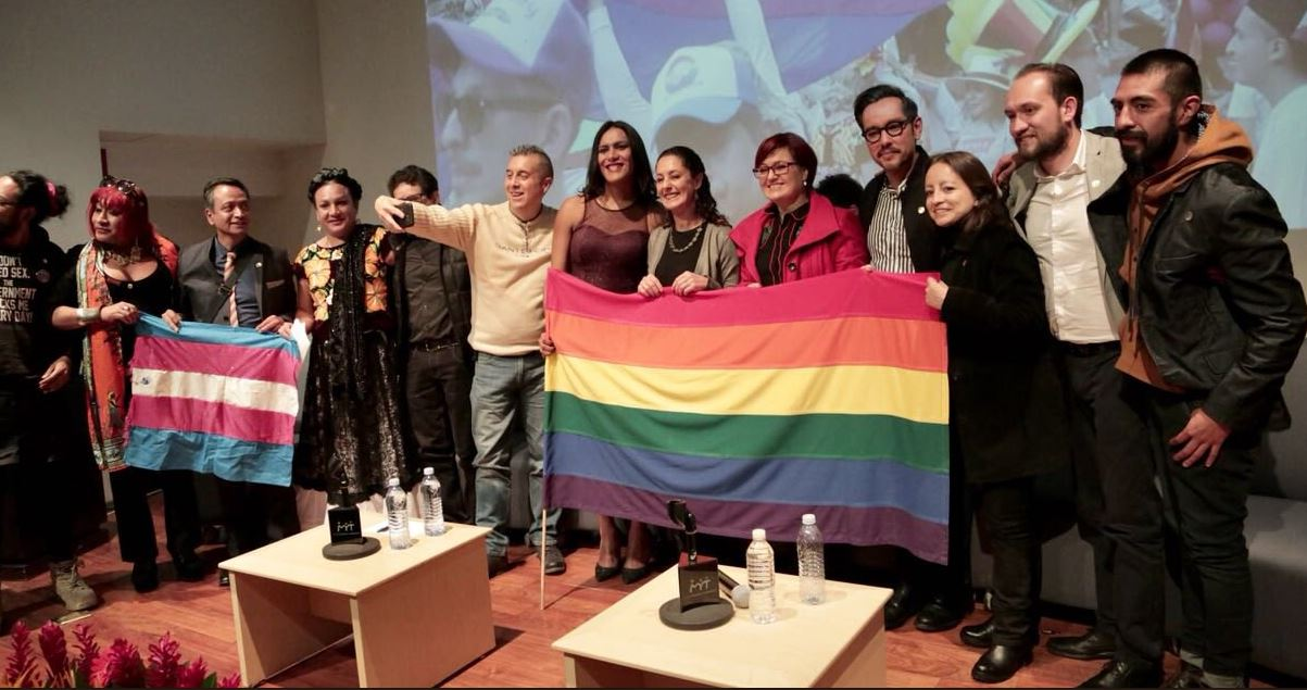 Sheinbaum asegura que reforzará derechos de la comunidad LGBTTTI