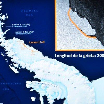 Deshielo de iceberg desprendido de la Antártida sería una catástrofe, dice la UNAM