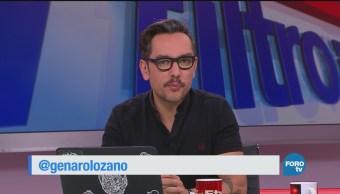 Sin Filtro con Genaro Lozano: Programa del 14 de enero 2018