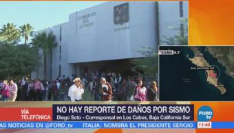 No hay reporte de daños por sismo en Baja California Sur
