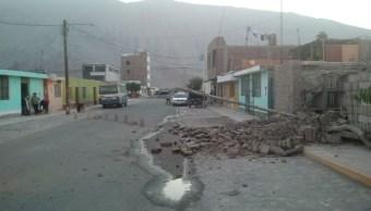 suman dos muertos por sismo en peru
