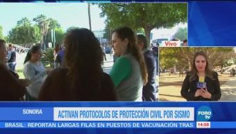 Sonora Activa Protocolos Protección Civil Sismo