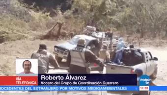 Suman 38 detenidos tras enfrentamiento que dejó 11 muertos en Guerrero