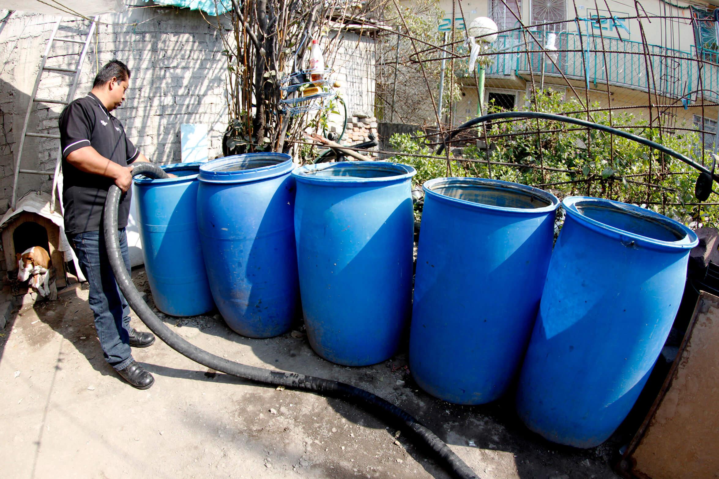 Hasta el jueves se normalizaría el abasto de agua en la CDMX